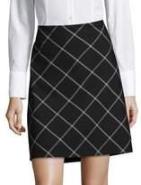 Jones New York Criss-Cross Pencil Skirt