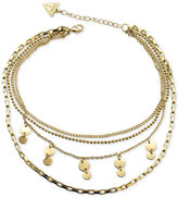 GUESS Multi-Row Choker Necklace