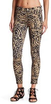 7 For All Mankind Leopard Print Ankle Skinny Jean