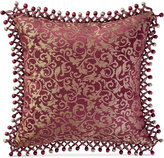 """Waterford Athena 18"""" Square Decorative Pillow Bedding"""