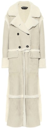 Tom Ford Shearling and suede coat