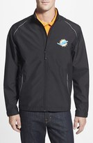 Cutter & Buck Men's Big & Tall 'Miami Dolphins - Beacon' Weathertec Wind & Water Resistant Jacket