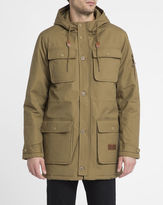 RVCA Brown Wright III Parka