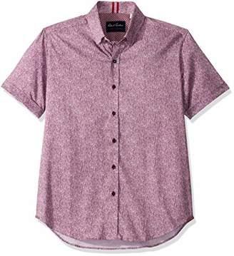 Robert Graham Men's Scott S/S Woven Shirt