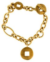 Pomellato 18K Toggle Link Bracelet
