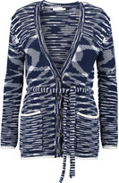 See by Chloe Jacquard-knit cotton-blend cardigan