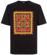 Loewe Tartan Patch T-shirt