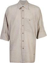 Vivienne Westwood Man - Freedom shirt - men - Cotton/Linen/Flax - 46