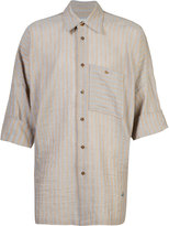Vivienne Westwood Man - Freedom shirt - men - Cotton/Linen/Flax - 48