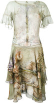 Alberta Ferretti floral print dress - women - Silk - 44