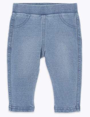 Marks and Spencer Denim Jeggings (0-3 Yrs)