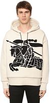 Burberry Embroidery Doubled Cotton Sweatshirt