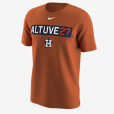 Nike Legend Name and Number (MLB Astros / Jose Altuve) Men's Training Shirt
