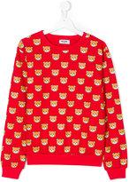 Moschino Kids teen Teddy Bear print sweatshirt