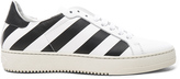 Off-White Classic Diagonals Leather Sneakers
