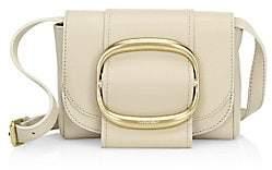 See by Chloe Women's Hopper Oversized Buckle Leather Shoulder Bag