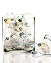 Kurt Adler Set of 20 Iridescent Glass Ball Ornaments