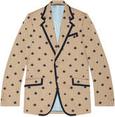 Gucci Heritage jacket with bees and stars