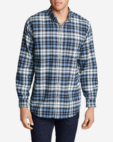 Eddie Bauer Men's Eddie's Favorite Flannel Relaxed Fit Shirt - Plaid