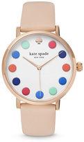Kate Spade Womens Metro Dot Round Watch 1YRU0735