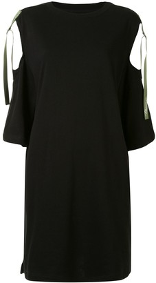 Izzue Cut-Out 3/4 Sleeves Dress