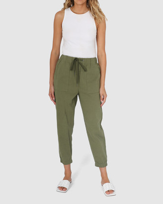 Madison The Label - Women's Cropped Pants - Kara Joggers - Size One Size, S at The Iconic