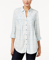 Style&Co. Style & Co. Gingham Shirt, Only at Macy's