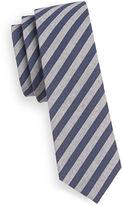 Haight And Ashbury Slim Striped Cotton Tie