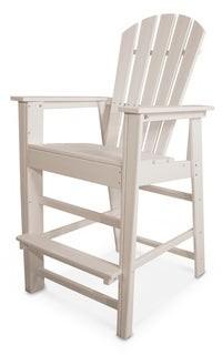 Polywood POLYWOOD? South Beach Outdoor Adirondack Bar Chair