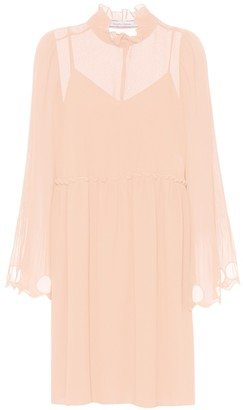 See by Chloe Ruffled georgette dress