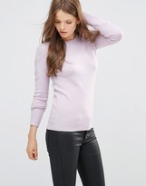 French Connection Babysoft Crew Neck Sweater In Roxy Kiss
