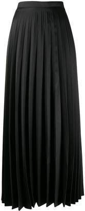 L'Autre Chose pleated maxi skirt