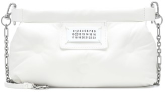 Maison Margiela Red Carpet Glam Slam leather clutch