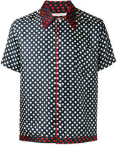 Marc Jacobs polka dot print shirt - men - Silk - 46