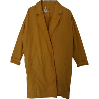 American Vintage Yellow Coat for Women