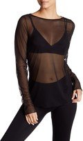 Wolford Tulle Sheer Pullover
