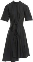 Cédric Charlier Green Cotton Dress for Women