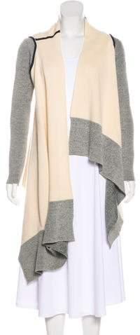 VPL Wool Asymmetrical Cardigan