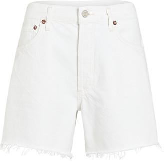 AGOLDE Reese Cut-Off Denim Shorts