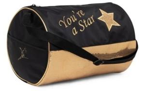 Capezio Big Boys & Girls Star Barrel Bag