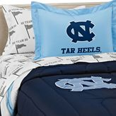 Bed Bath & Beyond University of North Carolina School Logo Applique Twin Bedding Set