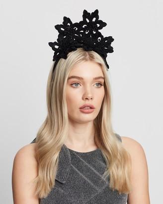 Olga Berg Everley Floral Lace Fascinator