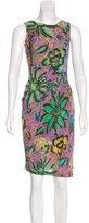Etro Abstract Print Sleeveless Dress