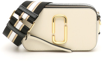 MARC JACOBS, THE MARC JACOBS (THE) THE SNAPSHOT SMALL CAMERA BAG OS Beige, White, Black Leather