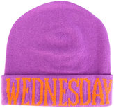 Alberta Ferretti Wednesday beanie - women - Cashmere/Virgin Wool - One Size