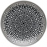 Richard Ginori 1735 Labirinto Black Porcelain Venezia Plate