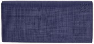 Loewe Navy Long Horizontal Wallet
