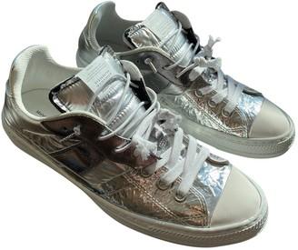 Maison Margiela Evolution Silver Leather Trainers