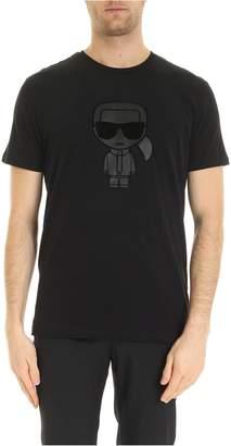 Karl Lagerfeld Paris T-shirt Con Stampa Karlito