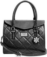 G by Guess Women's Nella Quilted Satchel